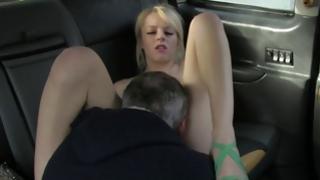 Blond hooker is arousing giving a deepthroat the hard weiner