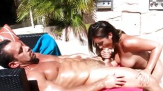 Enjoyable doxy is getting her hammered wildly
