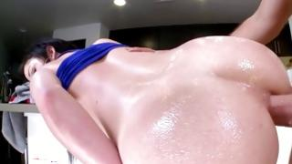 Steamy sweetheart is begging a becoming fucking with her rocky crude Mr.