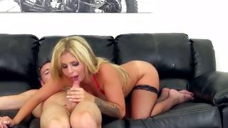 Satisfying and amazing carnal blonde is teaching her being to screw her in right way
