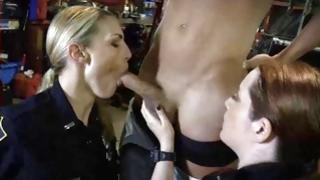Fabulous MMF oral-job with hoes in uniform