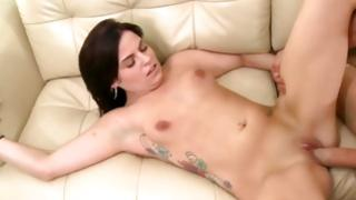 Blameless sex by sexually sexually excited but trendy damsel with inflexible ass