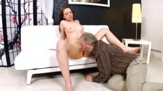 Bitchy gf is bending while she wildly screwed
