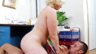 Light haired sweet bitch looks magical on free porn