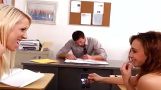 Brilliant young birds hungered in fucking teacher