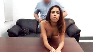 Horny young bitch allowed check her breasts