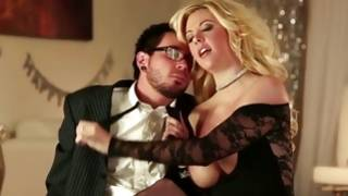 Aroused guy is aroused smacking a sluttish bitch